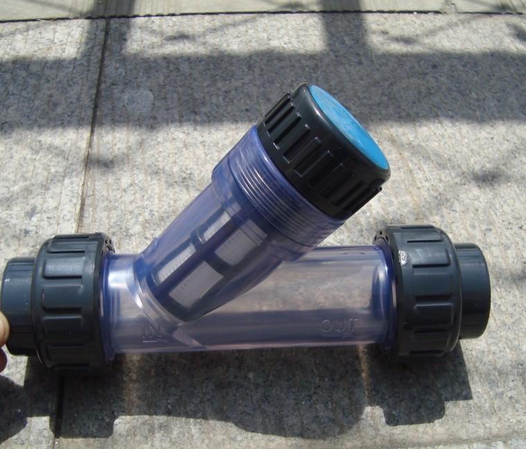 Y lọc nhựa trong DN40