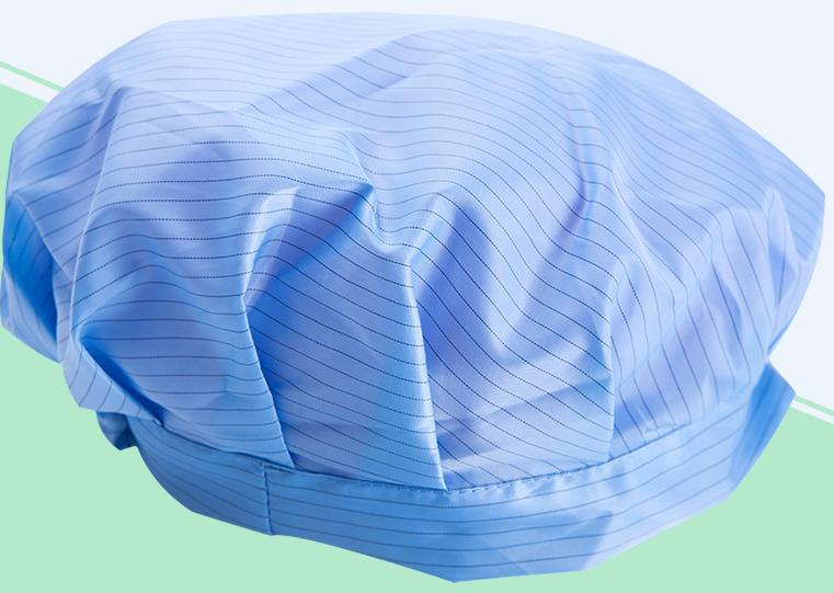 Nón vải chống tĩnh điện phòng sạch 1000, phòng sạch 10000