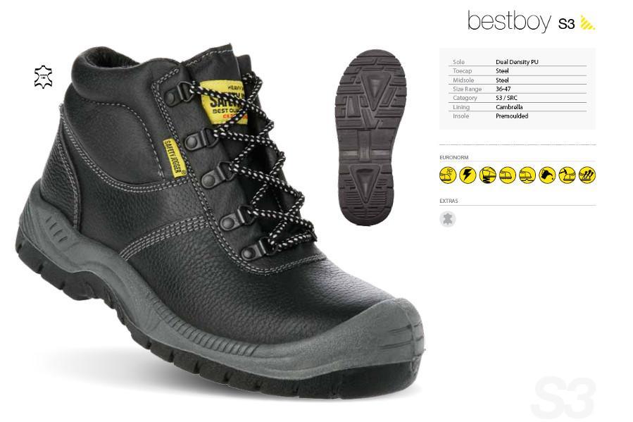Giày BHLD bảo vệ chân chống trượt Jogger BestBoy