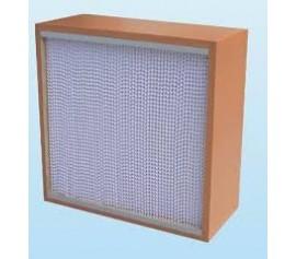 Hepa khung gỗ lọc hiệu quả cao phòng sạch lắp ráp điện tử