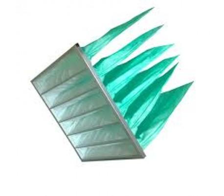 Khung lọc túi F6 màu xanh