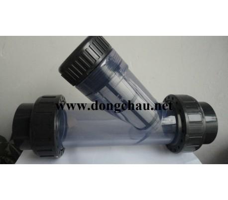 Y lọc nhựa trong DN50