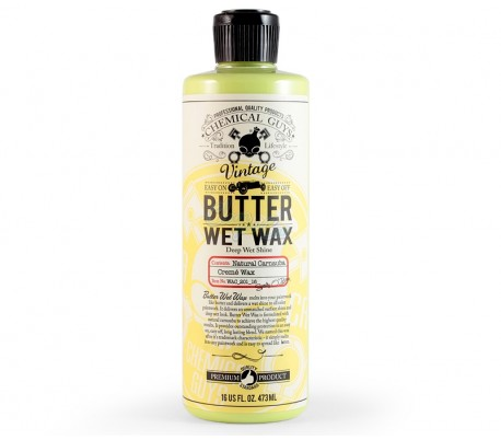 Kem đánh bóng sơn Chemical Guys Butter Wet Wax Deep Wet Shine
