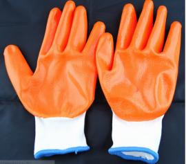 Găng tay bảo hệ tay phủ cao su chống trượt