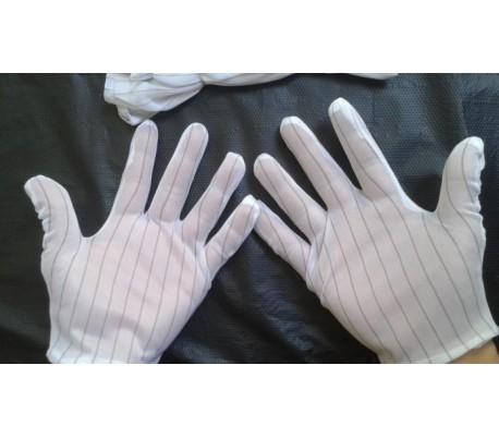 Găng tay sọc chống tĩnh điện trong phòng sạch