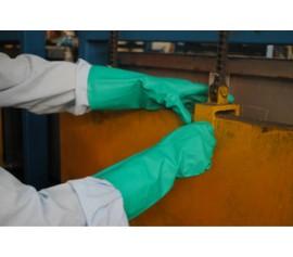Găng tay bảo hộ Nitrile cho làm việc hóa chất