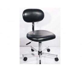 Ghế chống tĩnh điện phòng sạch có lưng tựa, điều chỉnh cao thấp