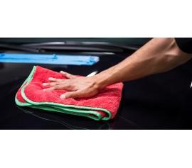 Khăn lau xe hơi cao cấp Chemical Guys Fluffer Miracle Supra Microfiber Towel 24