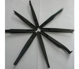 Nhíp nhựa đen gắp linh kiện điện tử, IC