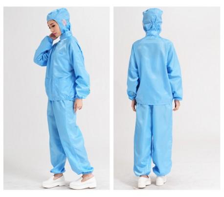 Quần áo chống tĩnh điện phòng sạch nhà máy sản xuất PCB