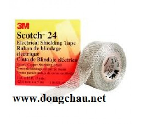 Băng keo cách điện lưới đồng 3M Scotch 24